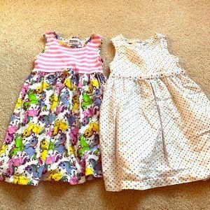 Set of 2 tank dresses